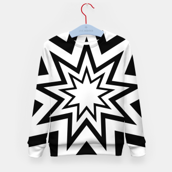 Thumbnail image of Tri-Enneagram Kid's Sweater, Live Heroes