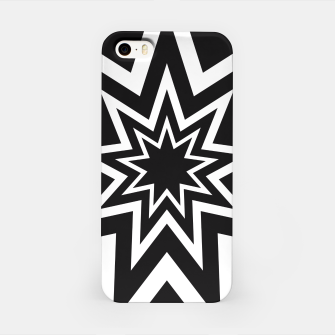 Thumbnail image of Black Tri-Enneagram iPhone Case, Live Heroes