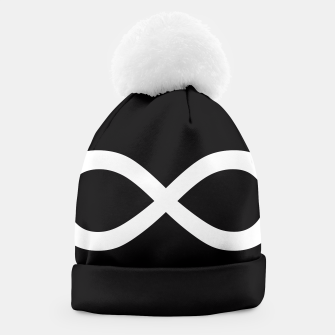Thumbnail image of Black Infinity Beanie, Live Heroes