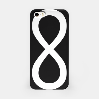 Thumbnail image of Black Infinity iPhone Case, Live Heroes