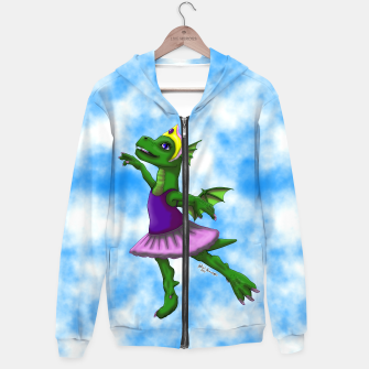 Thumbnail image of Ballet Dragon Hoodie, Live Heroes