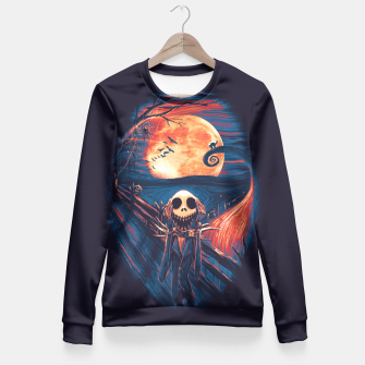 Thumbnail image of The Scream After Christmas Fitted Waist Sweater, Live Heroes