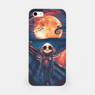 Thumbnail image of The Scream After Christmas iPhone Case, Live Heroes