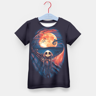 Thumbnail image of The Scream After Christmas Kid's T-shirt, Live Heroes
