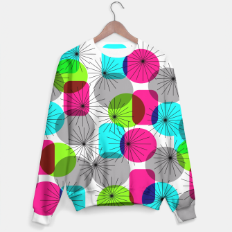 Thumbnail image of Bod Colorful Retro Geometric Star Bursts Sweater, Live Heroes