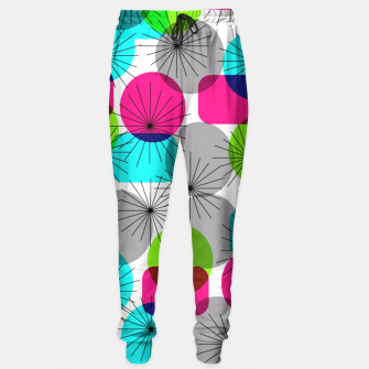 Thumbnail image of Bod Colorful Retro Geometric Star Bursts Sweatpants, Live Heroes