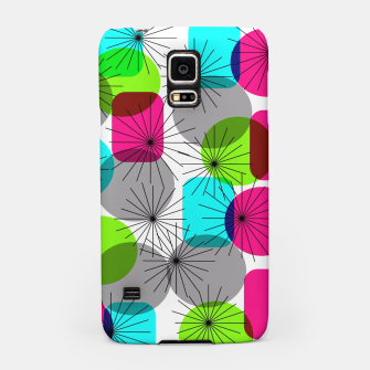 Thumbnail image of Bod Colorful Retro Geometric Star Bursts Samsung Case, Live Heroes