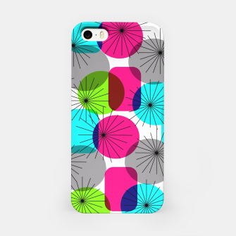 Thumbnail image of Bod Colorful Retro Geometric Star Bursts iPhone Case, Live Heroes