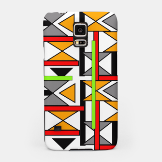 Thumbnail image of Geometric Abstract Funky Colorful Print Samsung Case, Live Heroes