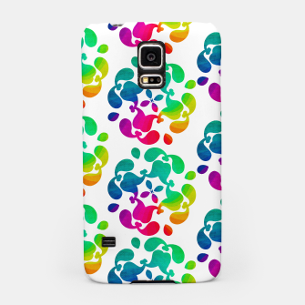 Thumbnail image of Ombre Rainbow Flowery Paisley Pattern Samsung Case, Live Heroes