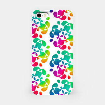 Thumbnail image of Ombre Rainbow Flowery Paisley Pattern iPhone Case, Live Heroes