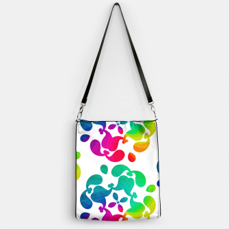 Thumbnail image of Ombre Rainbow Flowery Paisley Pattern Handbag, Live Heroes