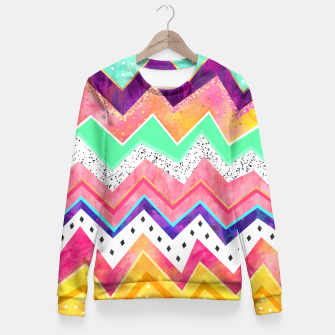 Thumbnail image of Ice Cream Land Fitted Waist Sweater, Live Heroes