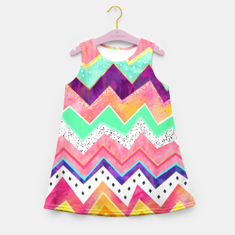 Miniature de image de Ice Cream Land Girl's Summer Dress, Live Heroes