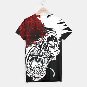 Thumbnail image of Zombie Survivalist T-shirt, Live Heroes