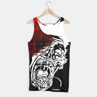 Thumbnail image of Zombie Survivalist Tank Top, Live Heroes
