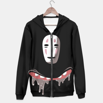 Thumbnail image of Nom Nom Face Hoodie, Live Heroes