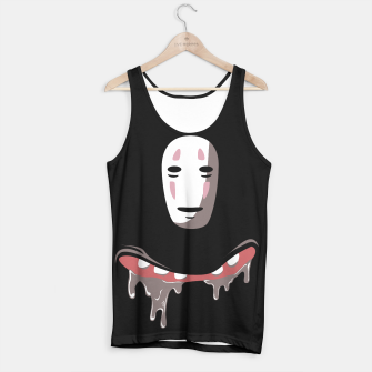 Thumbnail image of Nom Nom Face Tank Top, Live Heroes