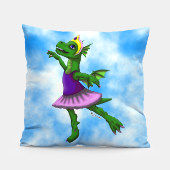 Thumbnail image of Ballet Dragon Pillow, Live Heroes
