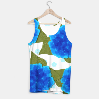 Thumbnail image of Blue Hydrangeas Floral Print  Tank Top, Live Heroes