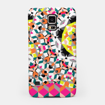 Thumbnail image of Geometric Spliced Pattern Mix Samsung Case, Live Heroes