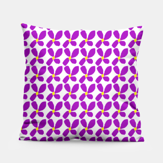 Thumbnail image of Ditsy Purple Floral Summer Print Pillow, Live Heroes