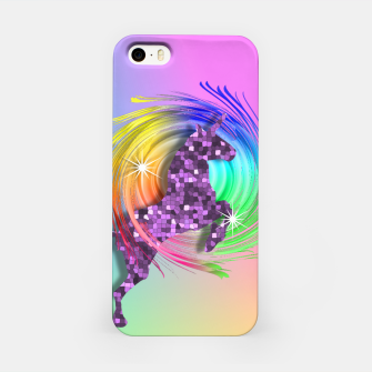 Thumbnail image of /Ombre Rainbow Fantasy Unicorn iPhone Case, Live Heroes