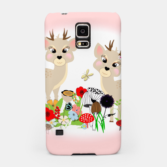 Thumbnail image of Cute Baby Deer Kids Whimsy Animals Samsung Case, Live Heroes
