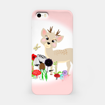 Thumbnail image of Cute Baby Deer Kids Whimsy Animals iPhone Case, Live Heroes