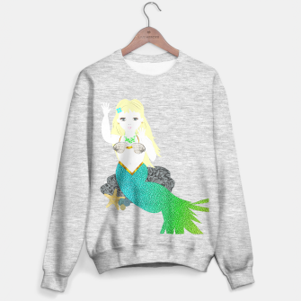 Thumbnail image of Pretty Mythical Mermaid Graphic Sweater, Live Heroes