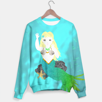 Thumbnail image of Pretty Mythical Mermaids Sweater, Live Heroes