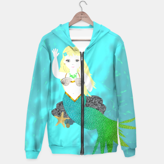 Thumbnail image of Pretty Mythical Mermaids Hoodie, Live Heroes