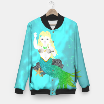 Thumbnail image of Pretty Mythical Mermaids Baseball Jacket, Live Heroes
