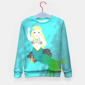 Thumbnail image of Pretty Mythical Mermaids Kid's Sweater, Live Heroes