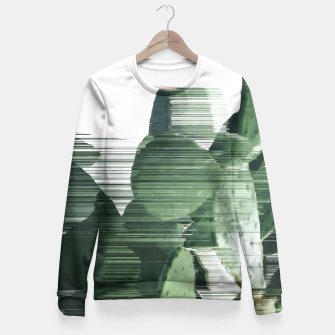 Thumbnail image of Assorted Cactus Fitted Waist Sweater, Live Heroes