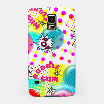 Thumbnail image of Fun Funky Bubble Gum Comic Pop Art  Samsung Case, Live Heroes
