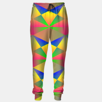 Thumbnail image of Geometric Rainbow Glow  Sweatpants, Live Heroes