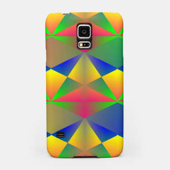 Thumbnail image of Geometric Rainbow Glow  Samsung Case, Live Heroes