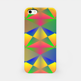 Thumbnail image of Geometric Rainbow Glow  iPhone Case, Live Heroes