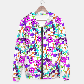 Thumbnail image of Fun Colorful Doodle Scribble Abstract Hoodie, Live Heroes