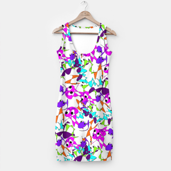 Thumbnail image of Fun Colorful Doodle Scribble Abstract Simple Dress, Live Heroes
