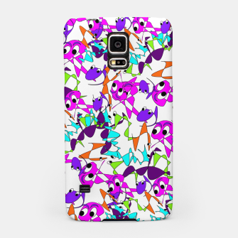 Thumbnail image of Fun Colorful Doodle Scribble Abstract Samsung Case, Live Heroes