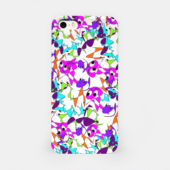Thumbnail image of Fun Colorful Doodle Scribble Abstract iPhone Case, Live Heroes