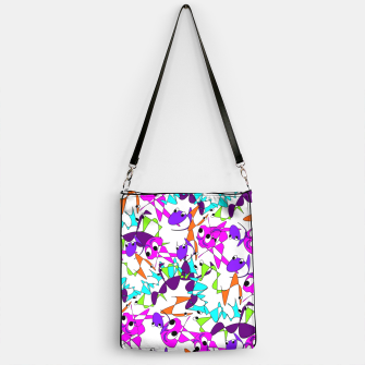 Thumbnail image of Fun Colorful Doodle Scribble Abstract Handbag, Live Heroes