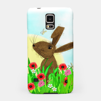 Thumbnail image of Spring Poppy Fields  March Hares Samsung Case, Live Heroes