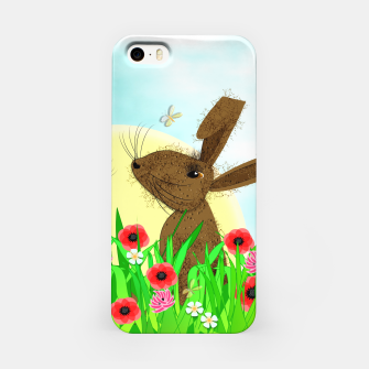 Thumbnail image of Spring Poppy Fields  March Hares iPhone Case, Live Heroes