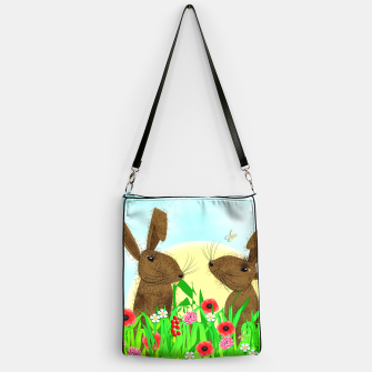 Thumbnail image of Spring Poppy Fields  March Hares Handbag, Live Heroes
