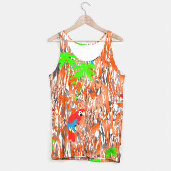 Thumbnail image of Tropical Parrot Jungle Print  Tank Top, Live Heroes