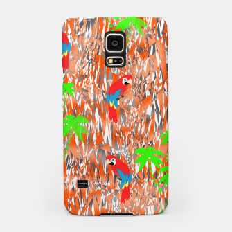 Thumbnail image of Tropical Parrot Jungle Print  Samsung Case, Live Heroes