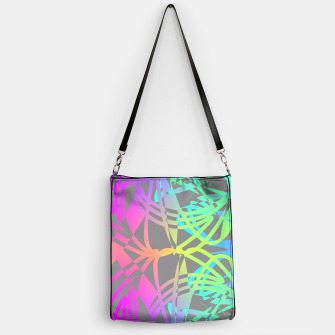 Thumbnail image of Funky Abstract Rainbow Rave Glow Sticks  Handbag, Live Heroes